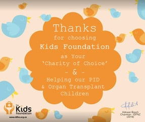 Sponsoring the Kids Foundation